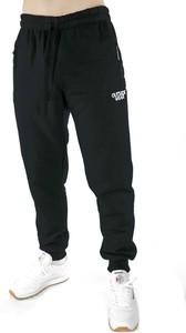 Czarne spodnie sportowe Outsidewear z bawełny w sportowym stylu
