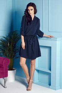 Niebieska sukienka Lemoniade w stylu casual