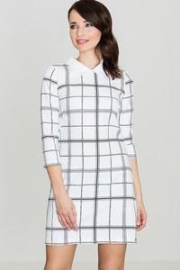 Sukienka LENITIF w stylu casual midi z długim rękawem