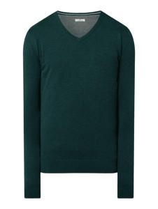 Zielony sweter Tom Tailor z bawełny w stylu casual