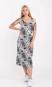 Sukienka Vans w stylu casual z okrągłym dekoltem