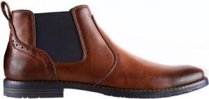 Brązowe buty zimowe Lanetti