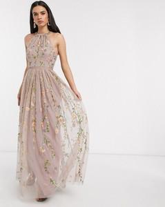 Sukienka Asos z dekoltem halter