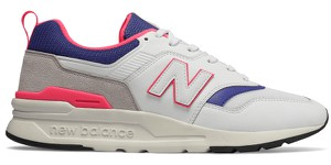 Buty sportowe New Balance w młodzieżowym stylu ze skóry