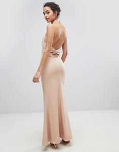Różowa sukienka Jarlo maxi