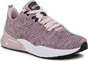 Fioletowe buty sportowe Sprandi sznurowane