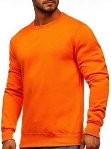 Pomarańczowa bluza Denley w stylu casual