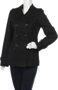 Czarny płaszcz Hot Options w stylu casual