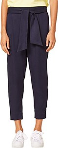 Granatowe spodnie ESPRIT