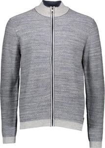 Sweter Pierre Cardin w stylu casual z bawełny ze stójką
