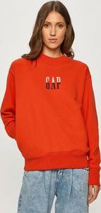 Czerwona bluza Gap z bawełny