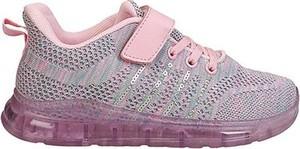 Różowe buty sportowe dziecięce Sprandi dla dziewczynek