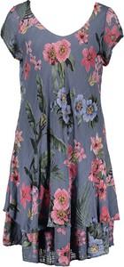 Sukienka Fashion Factory mini z dekoltem w kształcie litery v w stylu casual