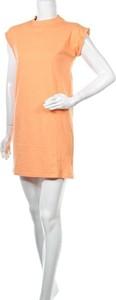 Sukienka Urban Classics prosta mini z krótkim rękawem