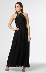 Czarna sukienka Laona gorsetowa maxi