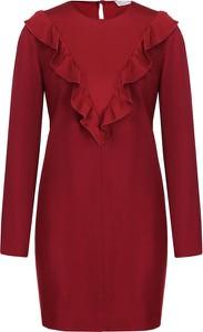 Sukienka Red Valentino w stylu casual z okrągłym dekoltem