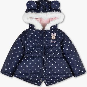 Niebieska kurtka dziecięca Disney® Baby dla dziewczynek