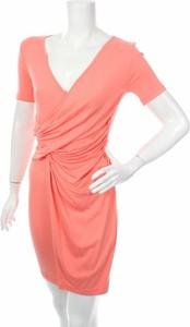 Pomarańczowa sukienka Asos mini