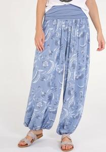 Niebieskie jeansy Unisono z tkaniny