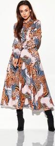 Sukienka Lemoniade szmizjerka z długim rękawem w stylu casual