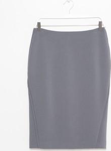 Szara spódnica simple