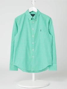 Zielona koszula dziecięca POLO RALPH LAUREN w krateczkę
