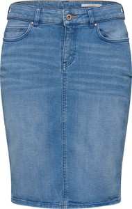 Niebieska spódnica edc by Esprit midi