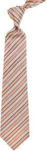Różowy krawat Kiton