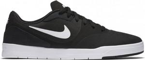 Czarne buty nike sznurowane w sportowym stylu