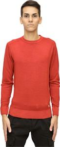Czerwony sweter C.P. Company z wełny