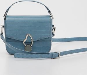 Niebieska torebka Mohito