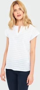 Bluzka Greenpoint z krótkim rękawem z okrągłym dekoltem w stylu casual