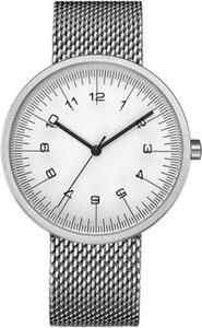 Zegarek unisex geekthink na srebrnej bransolecie