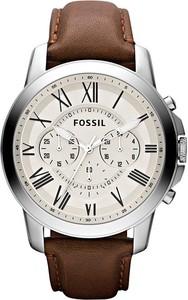 Fossil Zegarek Grant FS4735IE Brązowy