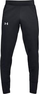 Czarne spodnie sportowe Under Armour z dresówki