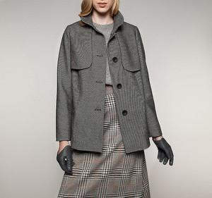 Płaszcz Wittchen w stylu casual