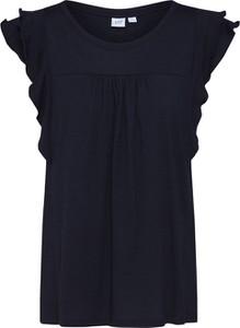 Bluzka Gap z okrągłym dekoltem z dżerseju w stylu casual