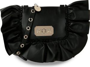 Czarna torebka Red Valentino na ramię