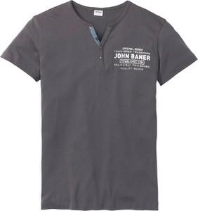 Granatowy t-shirt bonprix John Baner JEANSWEAR z krótkim rękawem