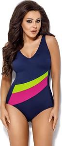 7802052143b195 strój kąpielowy jednoczęściowy z wycięciami. - stylowo i modnie z Allani