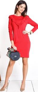 Czerwona sukienka ciążowa Lulla Happymum