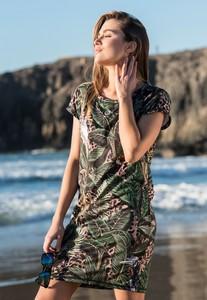 Sukienka Nessi Sportswear z krótkim rękawem z tkaniny