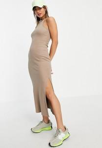 Sukienka French Connection z golfem bez rękawów z dżerseju