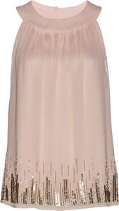 Bluzka bonprix bpc selection premium w stylu casual na ramiączkach z okrągłym dekoltem