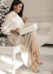 Bluzka Rose Boutique z długim rękawem