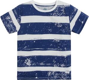 Koszulka dziecięca Cool Club z bawełny w paseczki