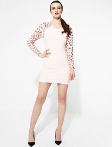Renee różowa sukienka silver star