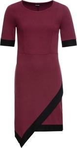 Sukienka bonprix BODYFLIRT z krótkim rękawem z okrągłym dekoltem mini
