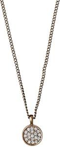 Pilgrim grace necklace uni złoty