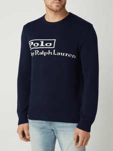 Sweter POLO RALPH LAUREN z okrągłym dekoltem
